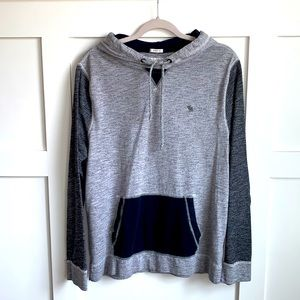 Abercrombie & Fitch Two Toned Hoodie. LIKE NEW